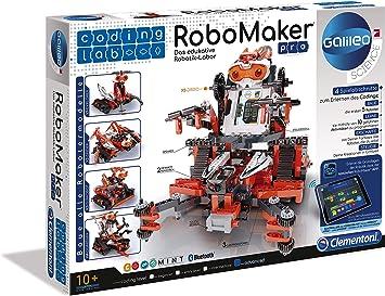 Clementoni Juego para Construir un Robot, Aprobado por el Museo de la Ciencia (61757): Amazon.es: Juguetes y juegos