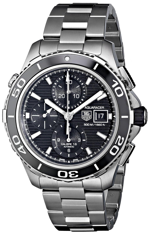 TAG Heuer Men s CAK2110.BA0833 Aqua Racer 500 Automatic Stainless Steel Bracelet Watch