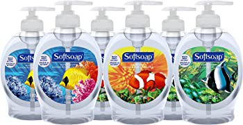 6-Pack Softsoap Liquid Hand Soap (7.5 fl oz Aquarium)
