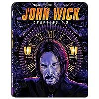 John Wick: Chapters 1-3 4K + Digital + Blu-ray