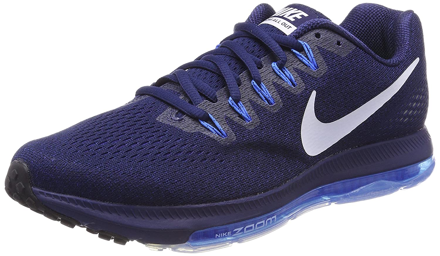 size 40 a190d 44c0a Amazon.com  NIKE Mens Zoom All Out Low Binary BluePhoto BlueBlackWhite  Nylon Running Shoes 8 M US  Road Running