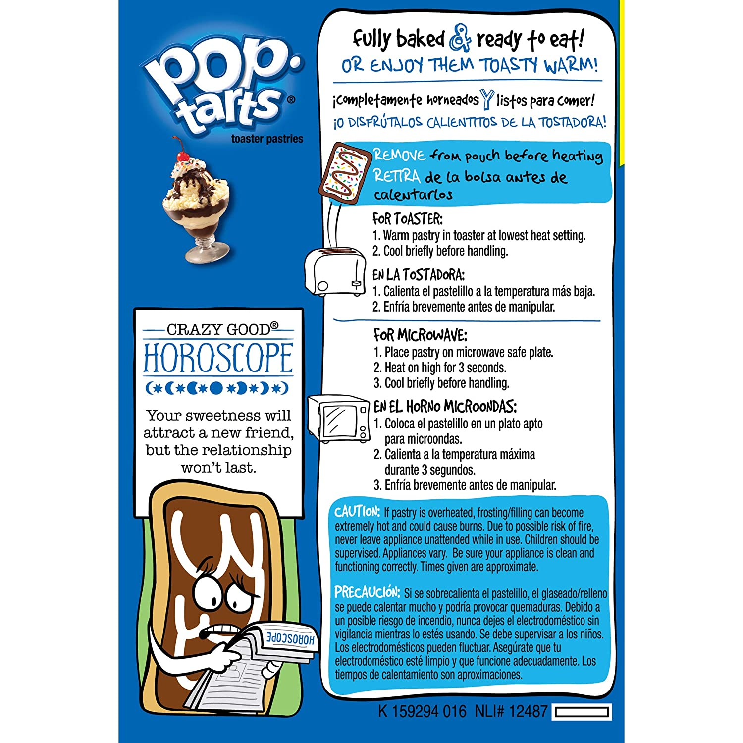 Pop-Tarts Toaster Pastries, Frosted Hot Fudge Sundae, 16 Count - 4 Pack
