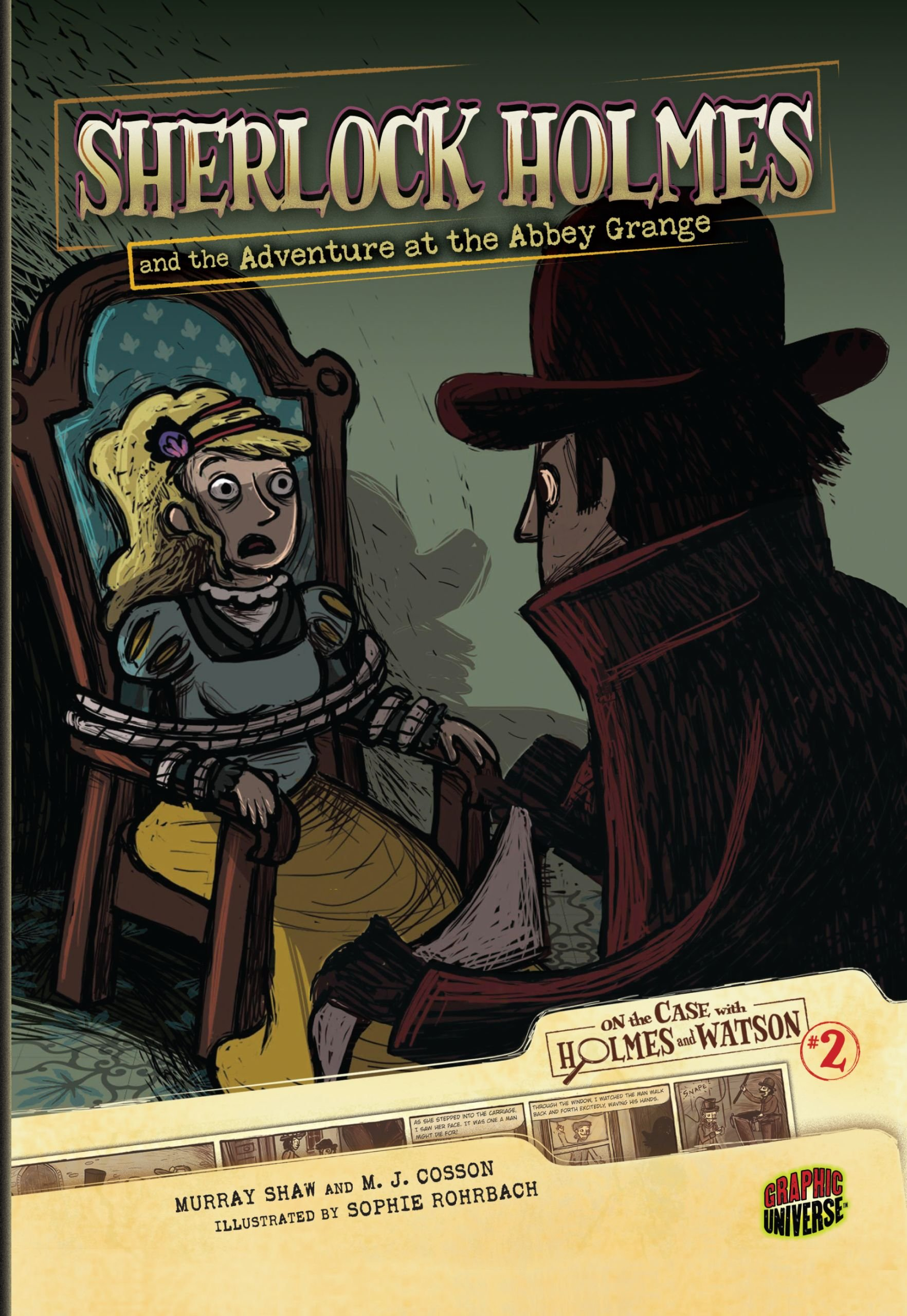 Download Sherlock Holmes and the Adventure at the Abbey Grange: Case 2 (On the Case With Holmes and Watson) pdf