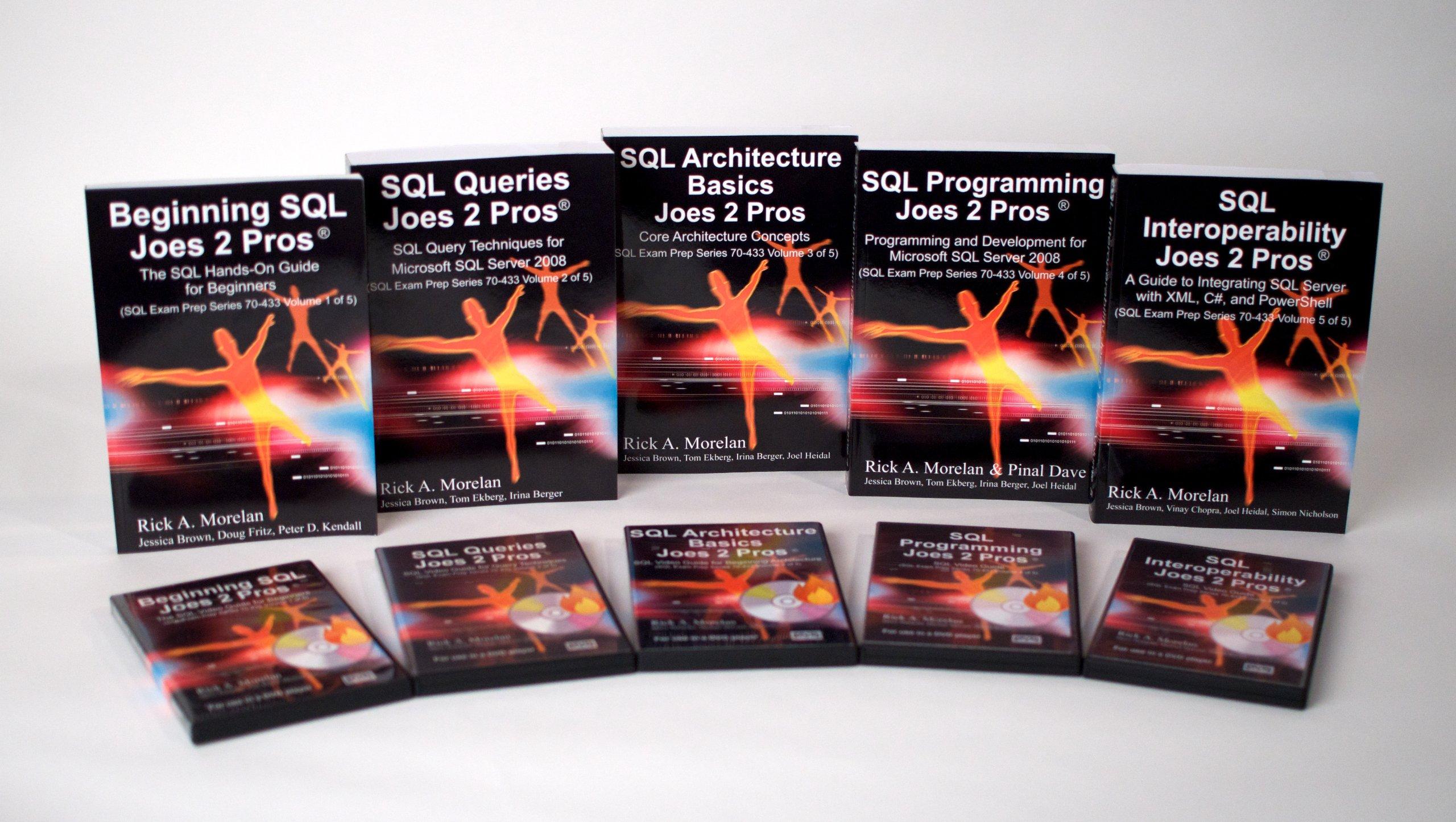 Joes 2 Pros Sql Server 2008 5 Volume Book And Dvd Certification