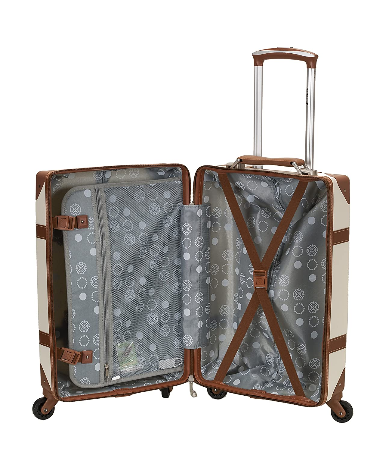 ... Signature Roseberry Peyton Travel Bag Duffle Suitcase Wheelie .  ROCKLAND Stage Coach 20 Inch Rolling Trunk 1d8583ceaa292
