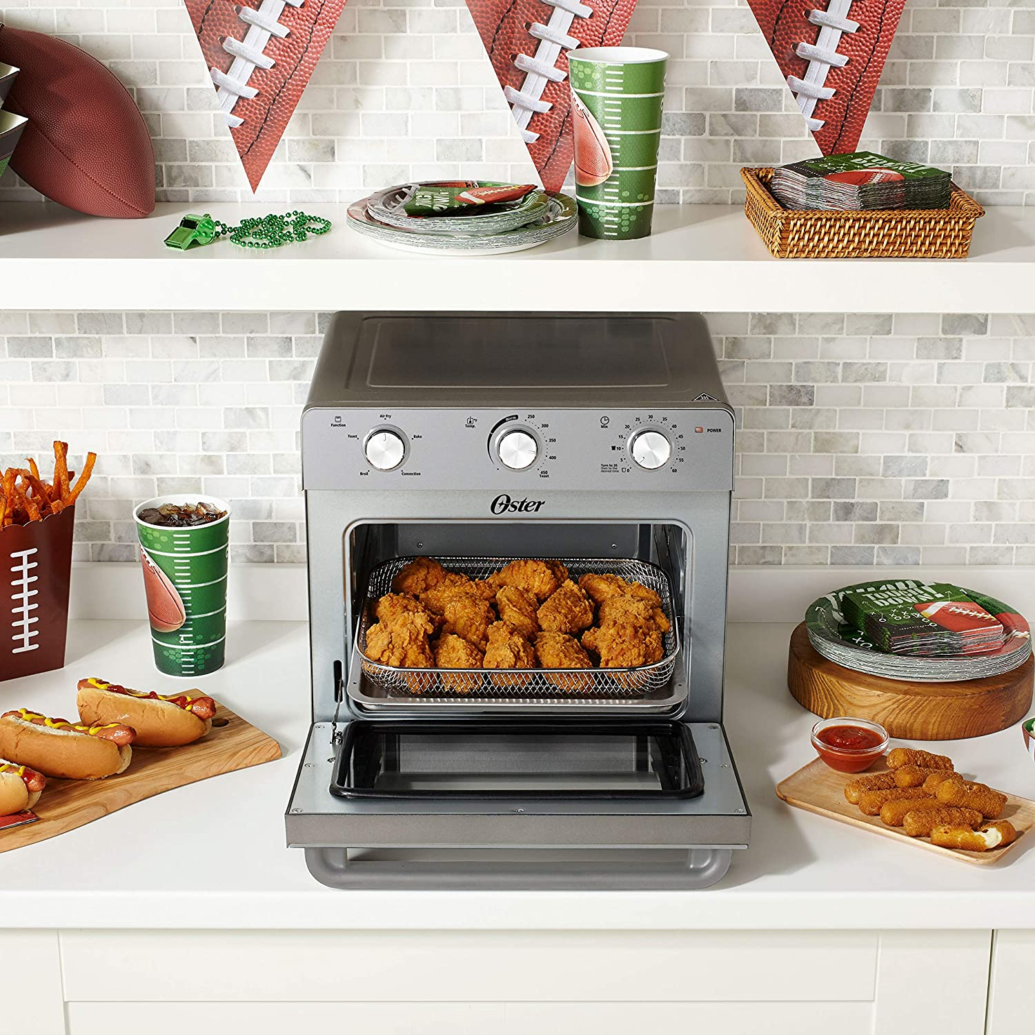 Oster Countertop Oven with Air Fryer Kitchen & Dining Fryers prb ...