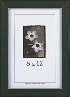 product image for Frame USA Clean Cut Series 8x12 Wood Picture Frames (Green)