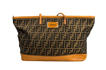8ba36d83af Amazon.com: Fendi Shopper Tote: International Brands Diffusion