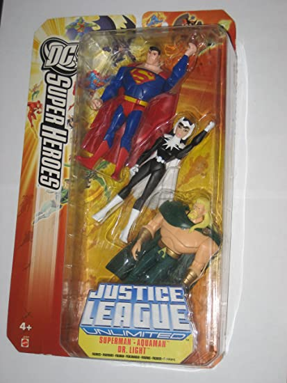 Amazon.com: Liga de la Justicia Ilimitada DC Super Heroes ...