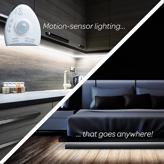 Amazon.com: Tira de Luz LED Con Sensor de Movimiento Livin Well -