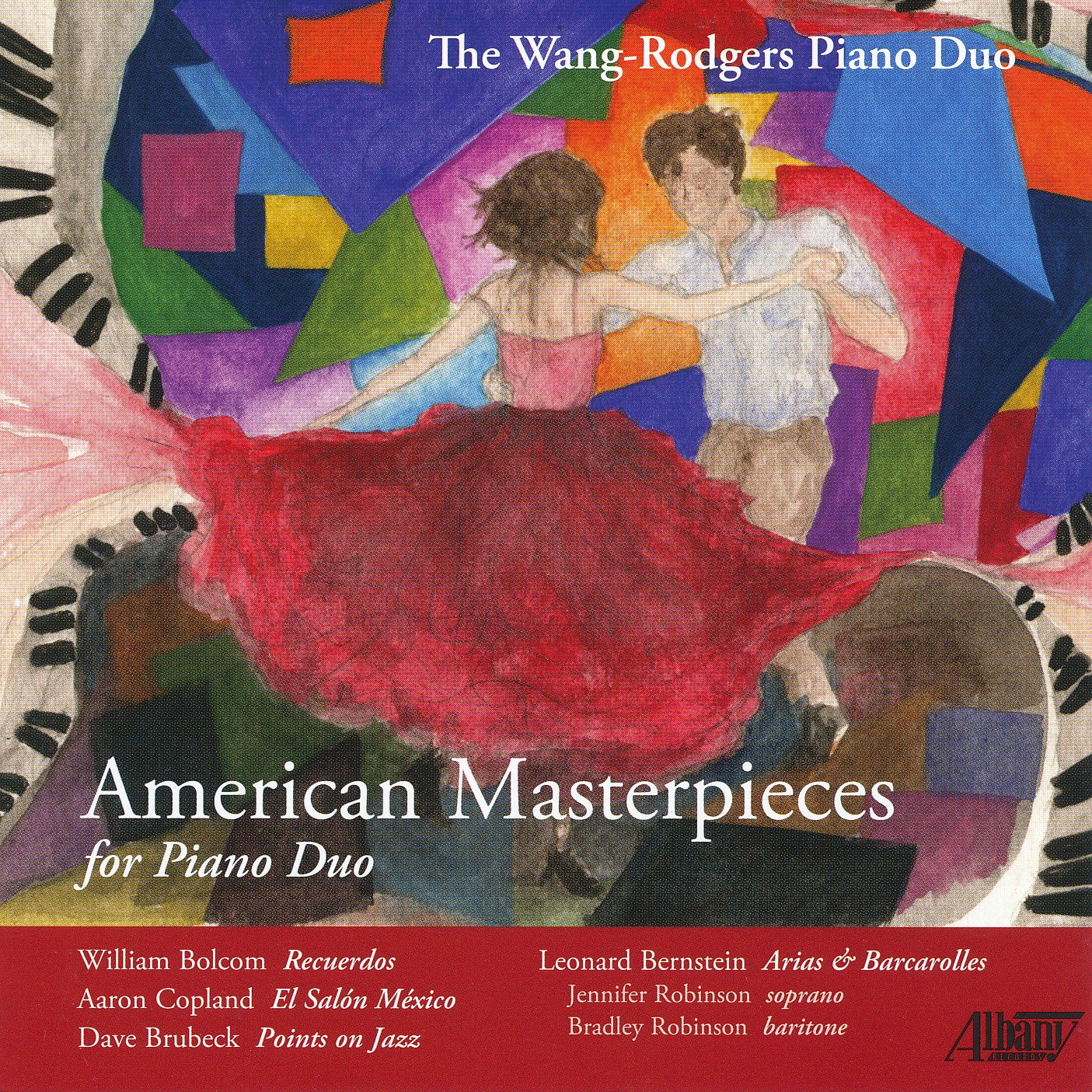 CD : Wang-Rodgers Piano Duo - American Masterpieces For Piano Duo (CD)