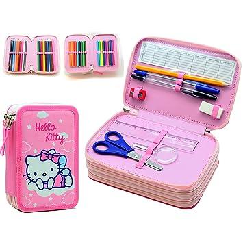 Hello Kitty PLUMIER Triple: Amazon.es: Juguetes y juegos
