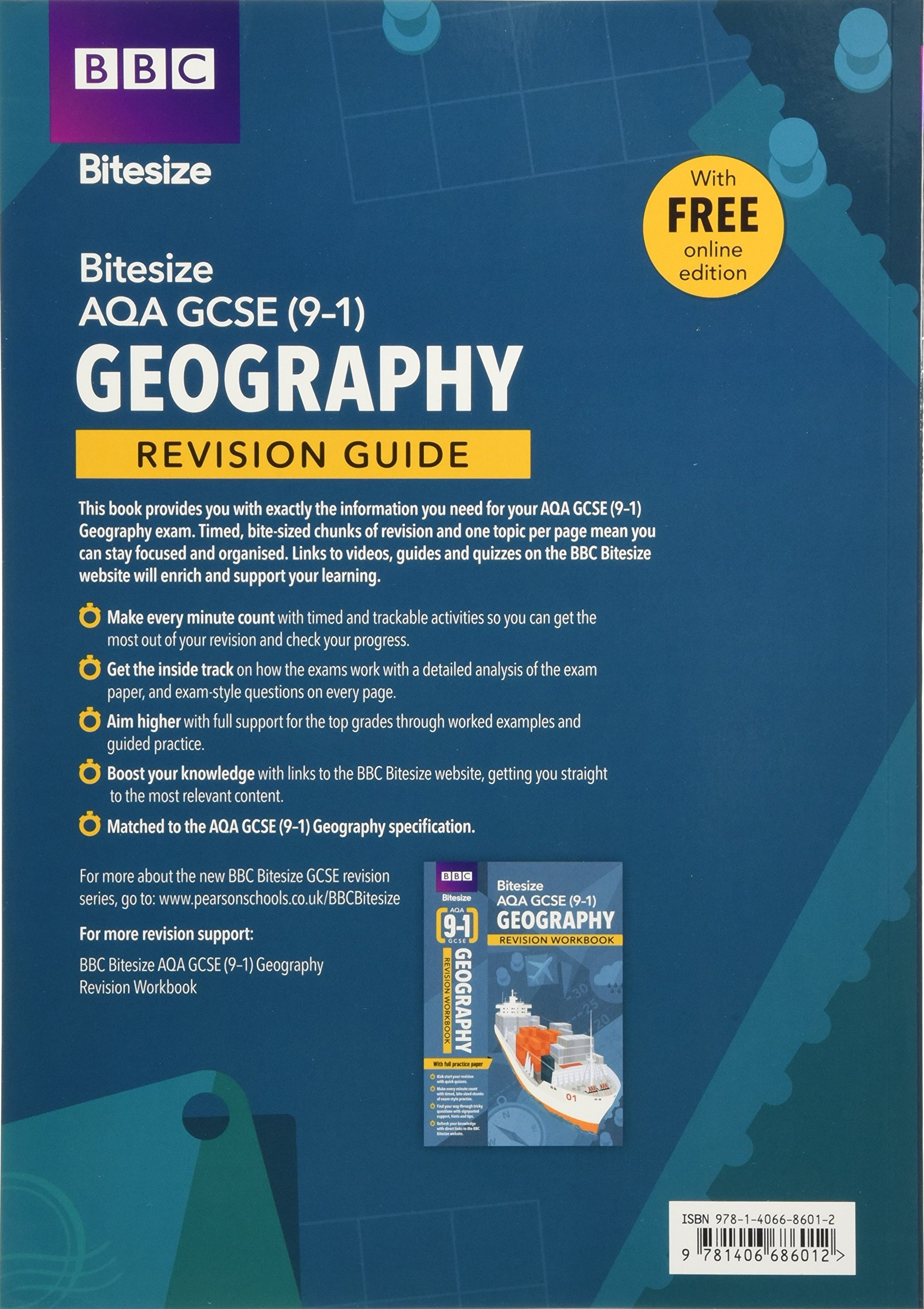 Bbc Bitesize Aqa Gcse 9 1 Geography Revision Guide Two Way Switch 2017 9781406686012 Books