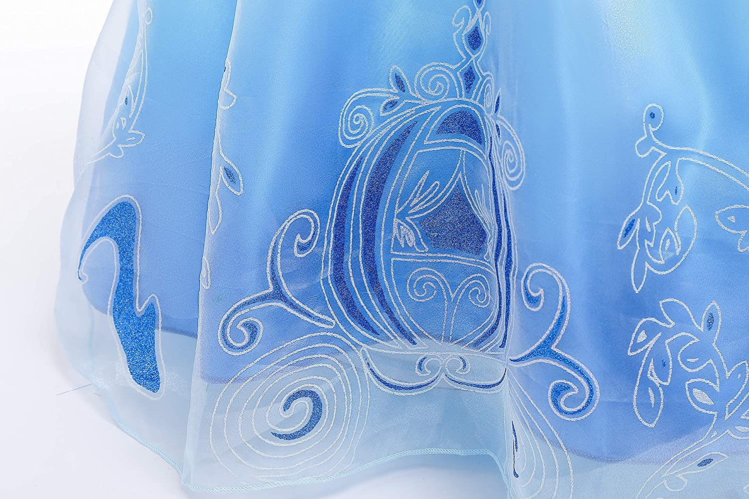 Romys Collection Skirt Princess Cinderella Costume Girls Dress Up with Accessories