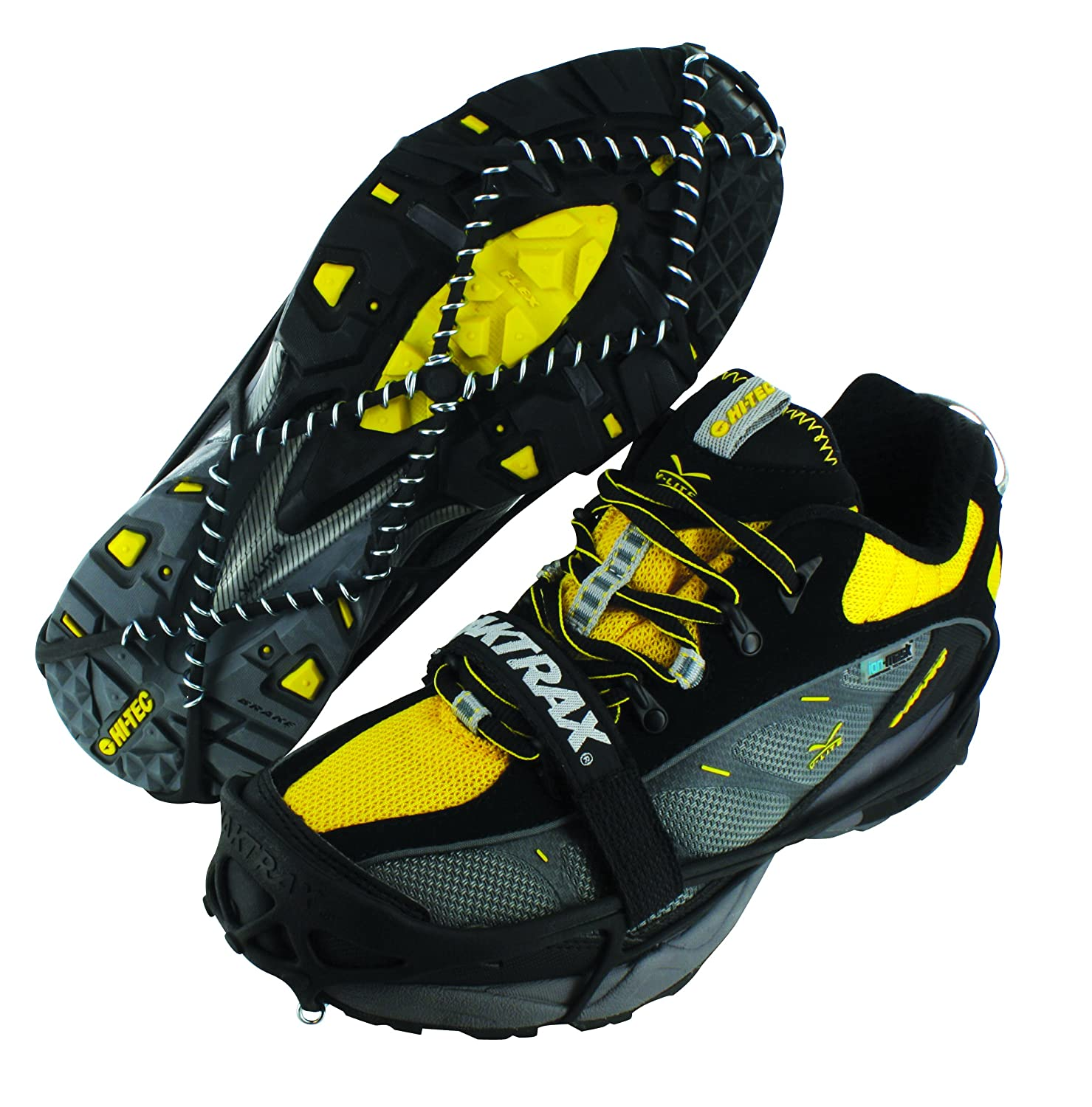 YakTrax Pro Winter Traction for Walking, Jogging, or Hiking on Snow and Ice