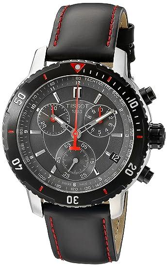 Tissot PRS 200 - Reloj (Reloj de pulsera, Masculino, Acero inoxidable, Negro