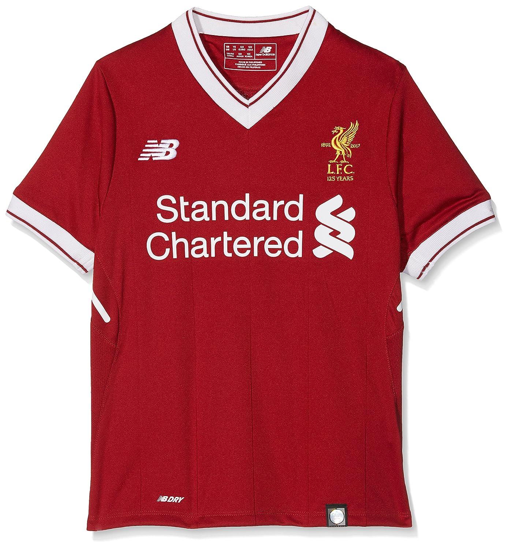 2017-2018 Liverpool Home Football Shirt (Kids) New Balance