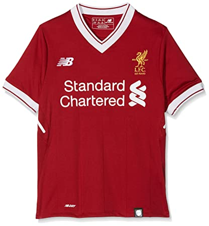 new product 94ba8 b8917 New Balance Liverpool FC Home Junior SS Jersey [Red Pepper]