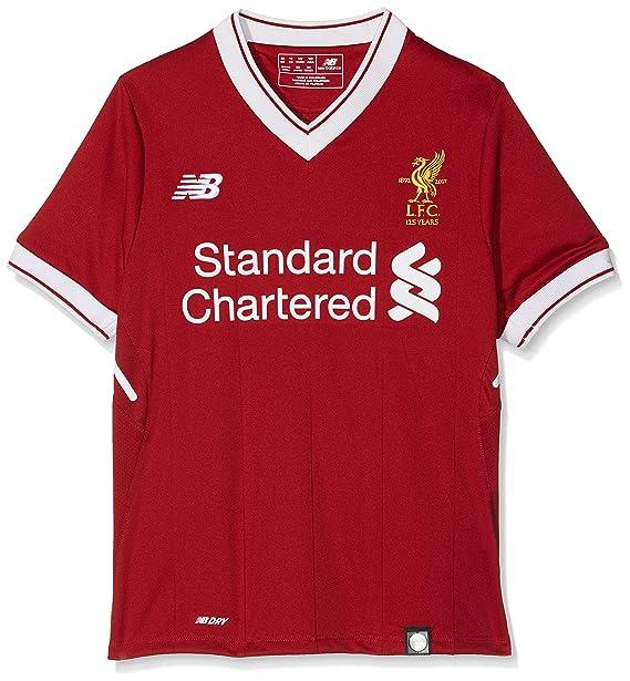 New Balance Liverpool Camiseta, niños, Rojo, XL: Amazon.es: Ropa y ...