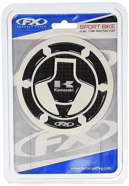 84efbbd50d8 Amazon.com  Factory Effex 15-58122 Carbon Fiber Gas Cap Dome Sticker for  Kawasaki Ninja 250R  Automotive