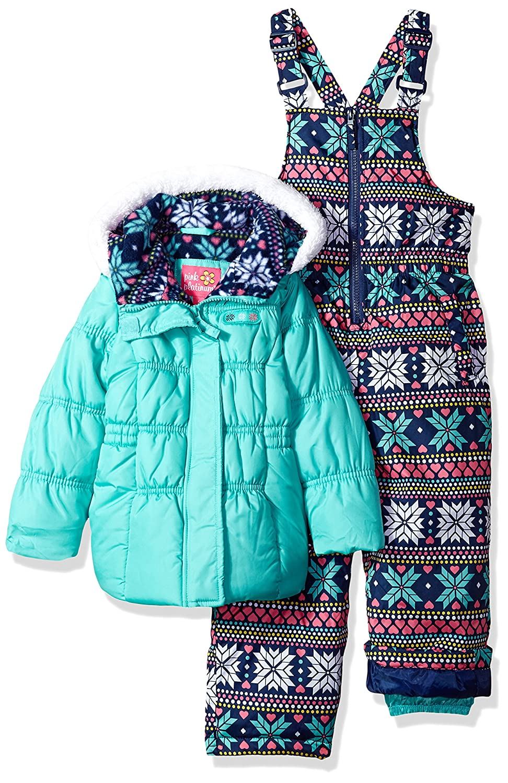 Pink Platinum Girls' Insulated Two-Piece Snowsuit 98590