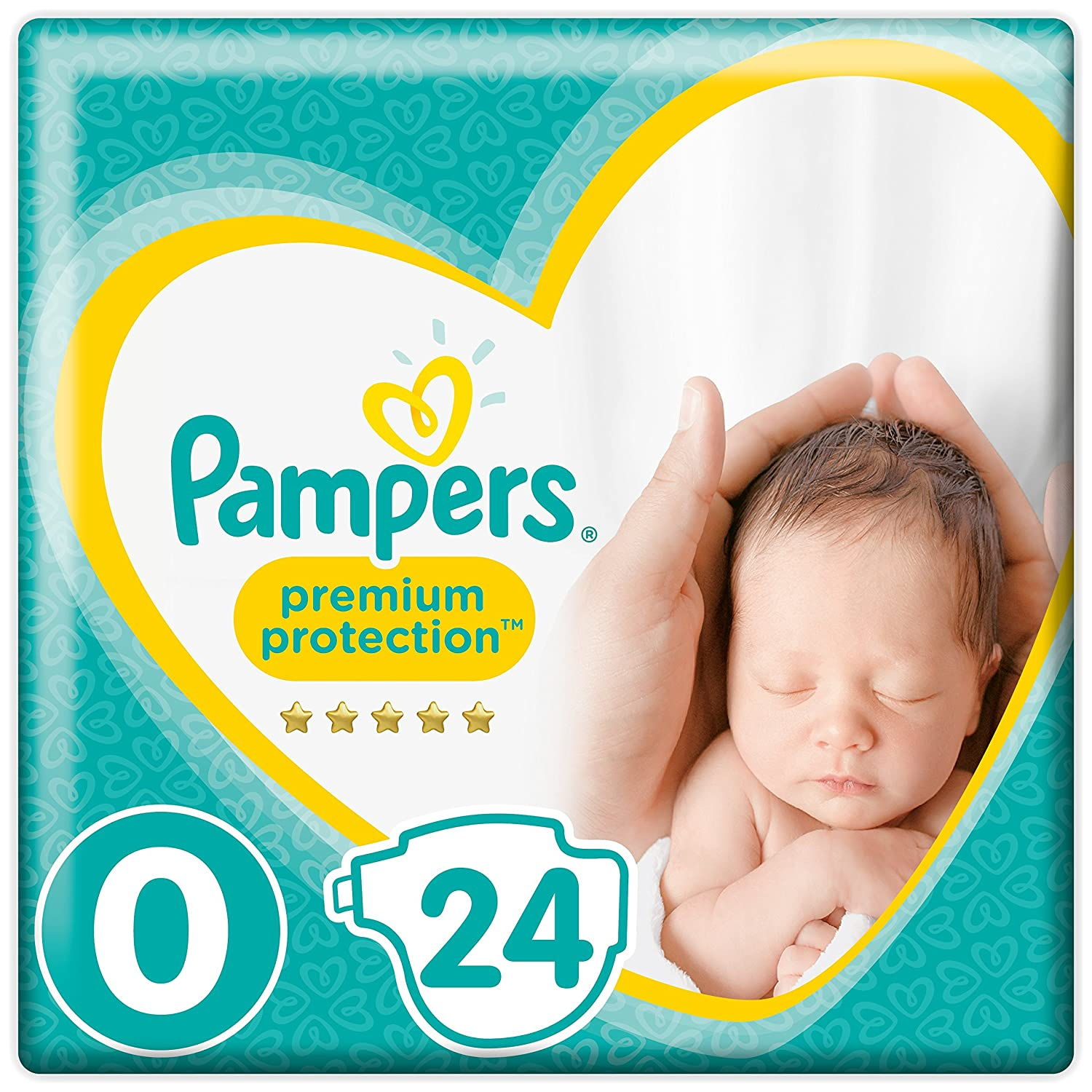 Pampers New Baby 24 Couches Taille Micro (1-2, 5 kg) 81450031