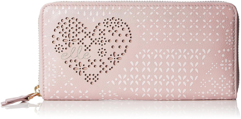 [エル] 長財布 「ミルテ」ラウンドファスナー型長財布 5432701 B078GXX9WK  ピンク