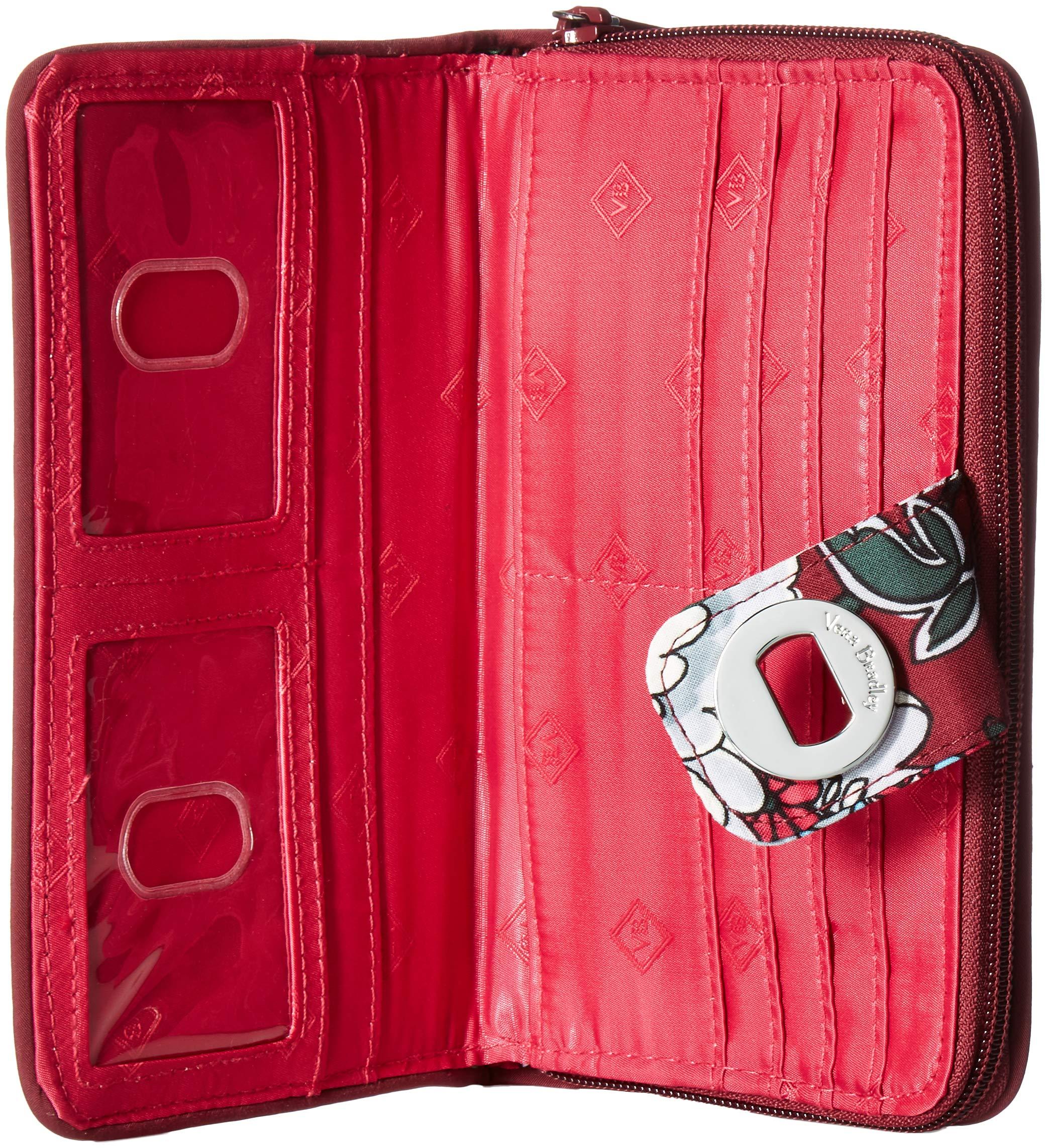Vera Bradley RFID Turnlock Wallet,  Signature Cotton, One Size by Vera Bradley (Image #5)