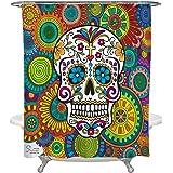 Amazing Shower Curtains - 2018 Sugar Skull Shower Curtain 70x70