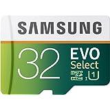 Samsung EVO Select Micro SDXC Memory Card, 32GB, 80MB/s (MB-ME32DA/AM)