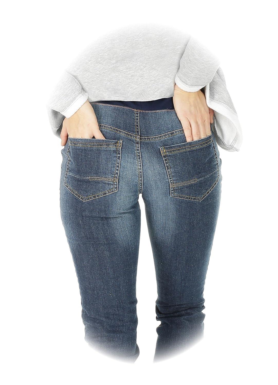 Nitis Umstandsmode Nitis Pantalones Para Embarazada Maternidad Vaqueros Stephanie Pantalones De Maternidad Pantalon De Mujer Recto