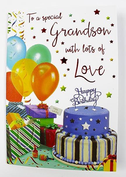 A un especial Nieto Tarjeta de felicitación de cumpleaños ...
