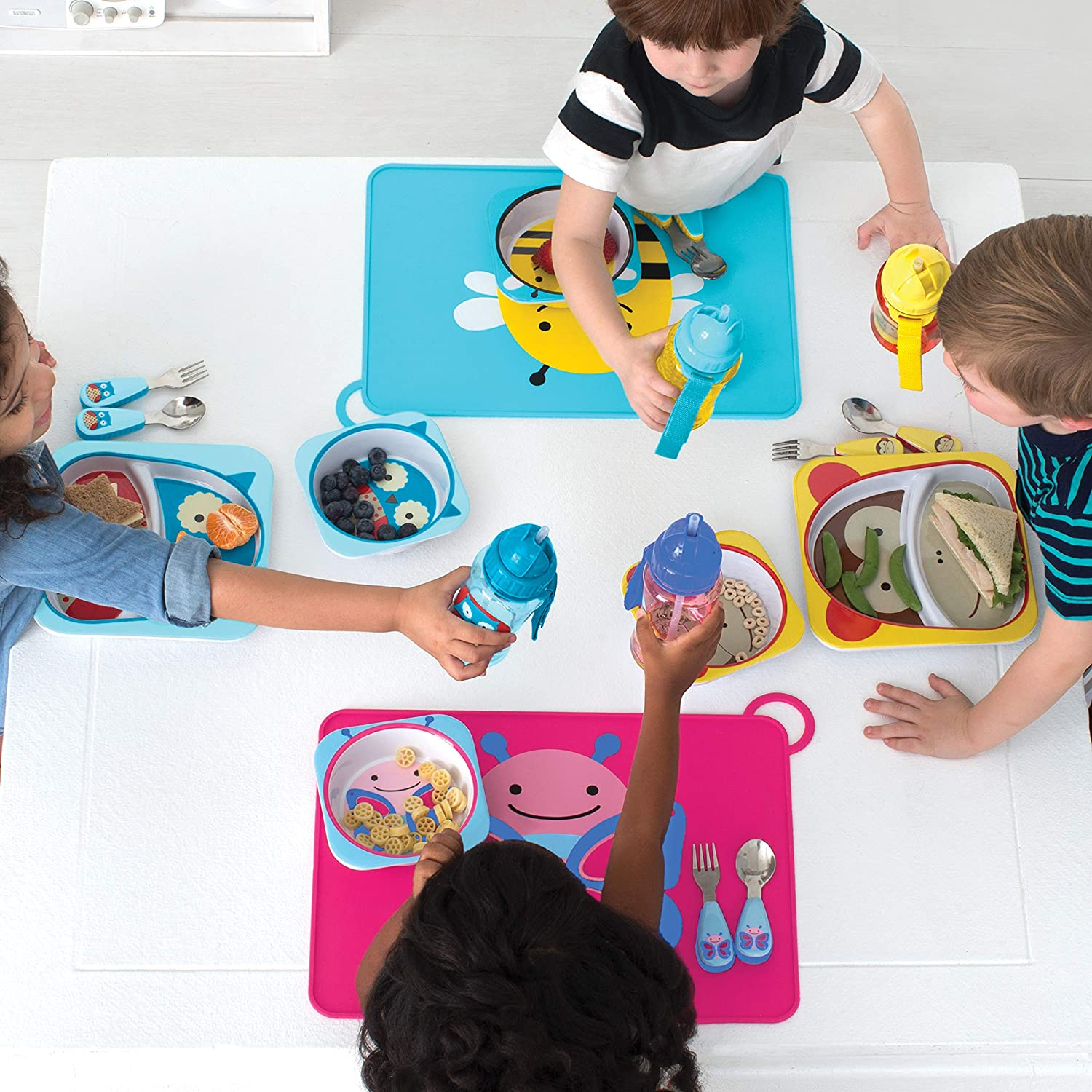 Monkey Skip Hop Silicone Placemats For Baby And Toddlers