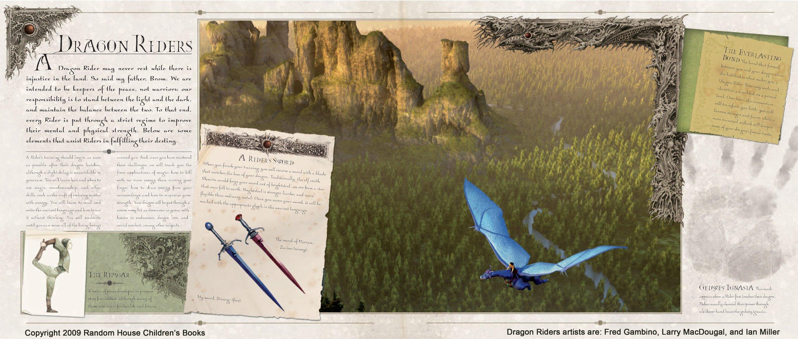 Amazon Com Eragon S Guide To Alagaesia The Inheritance Cycle