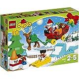 LEGO - 10837 - LEGO DUPLO Ma Ville - Jeu de Construction - Les Vacances d'Hiver du Père Noël