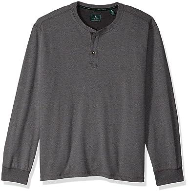ae3dd587294 G.H. Bass   Co. Men s Carbon Henley Long Sleeve Shirt at Amazon ...