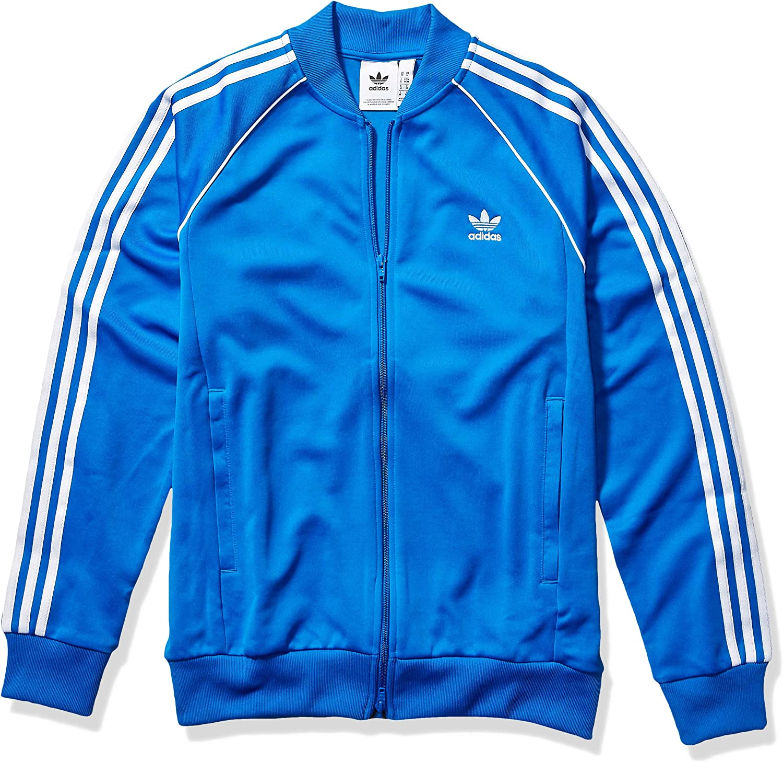 Campionato Panorama lavo i miei vestiti  adidas Originals Men's Superstar Track Top Jacket at Amazon Men's Clothing  store