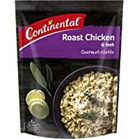 CONTINENTAL Gourmet Risotto (Side Dish)  Roast Chicken & Leek, 115g