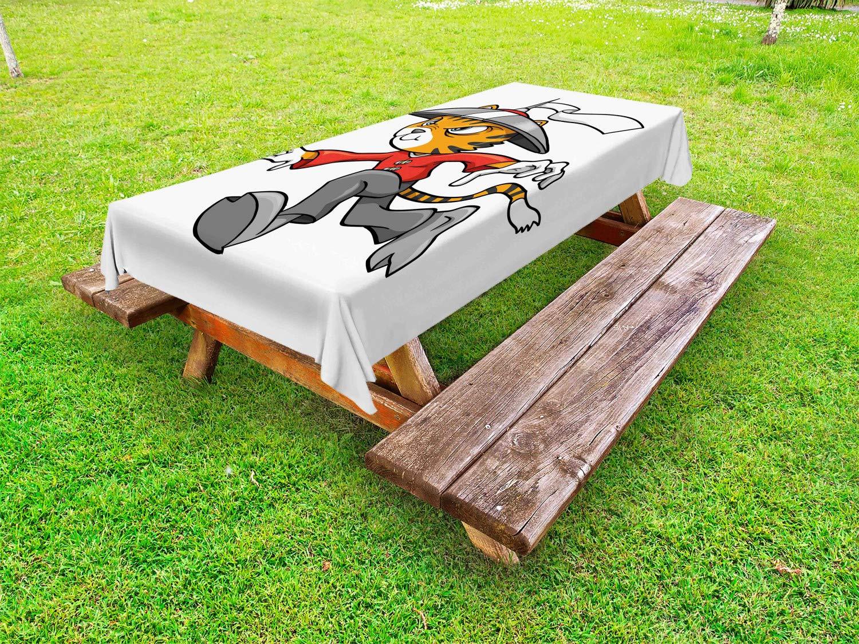 Ambesonne Ninja Cat - Mantel para Exteriores, diseño de Gato ...