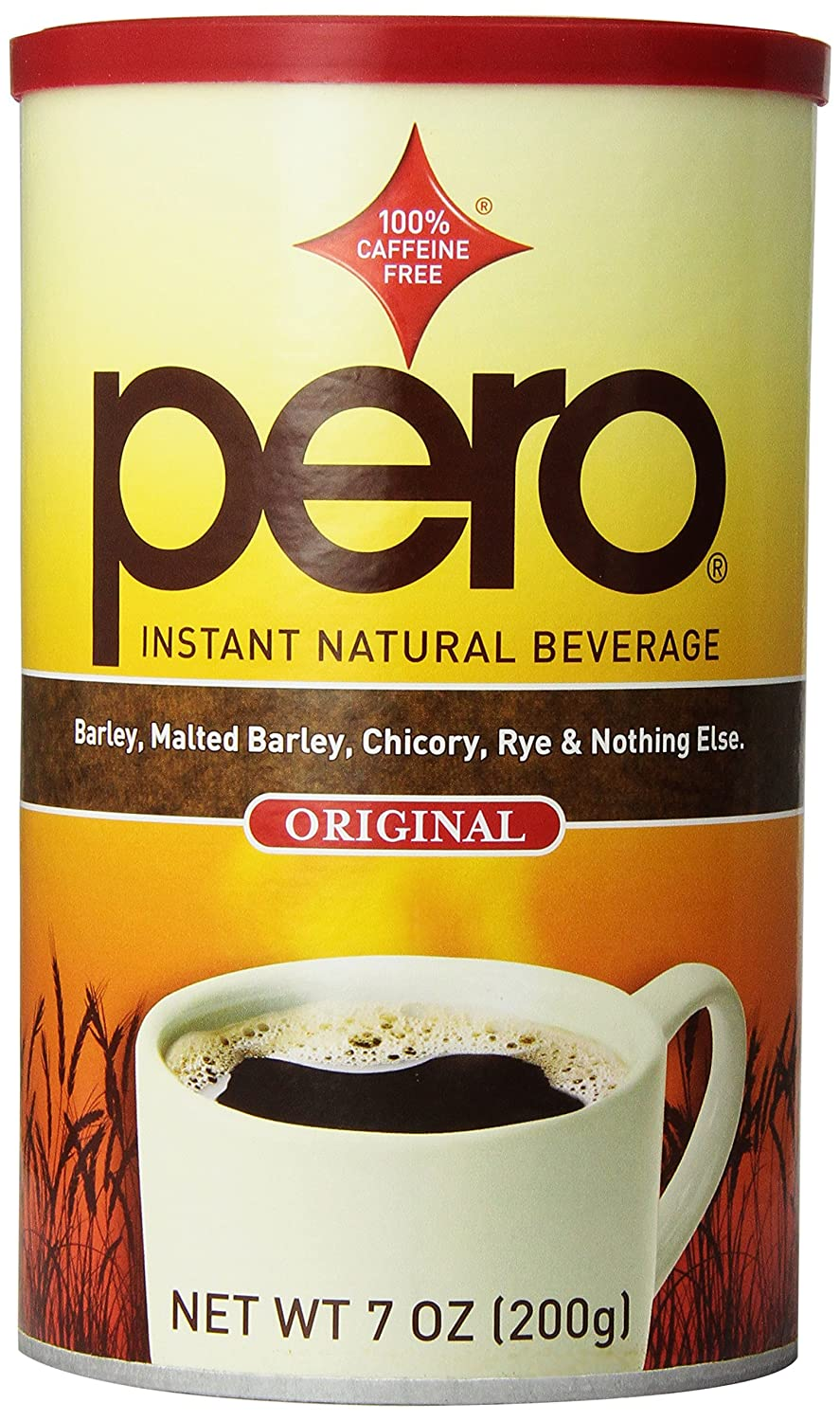 Pero Instant Beverage, 7 Ounce (Packaging may vary) - pack of 4