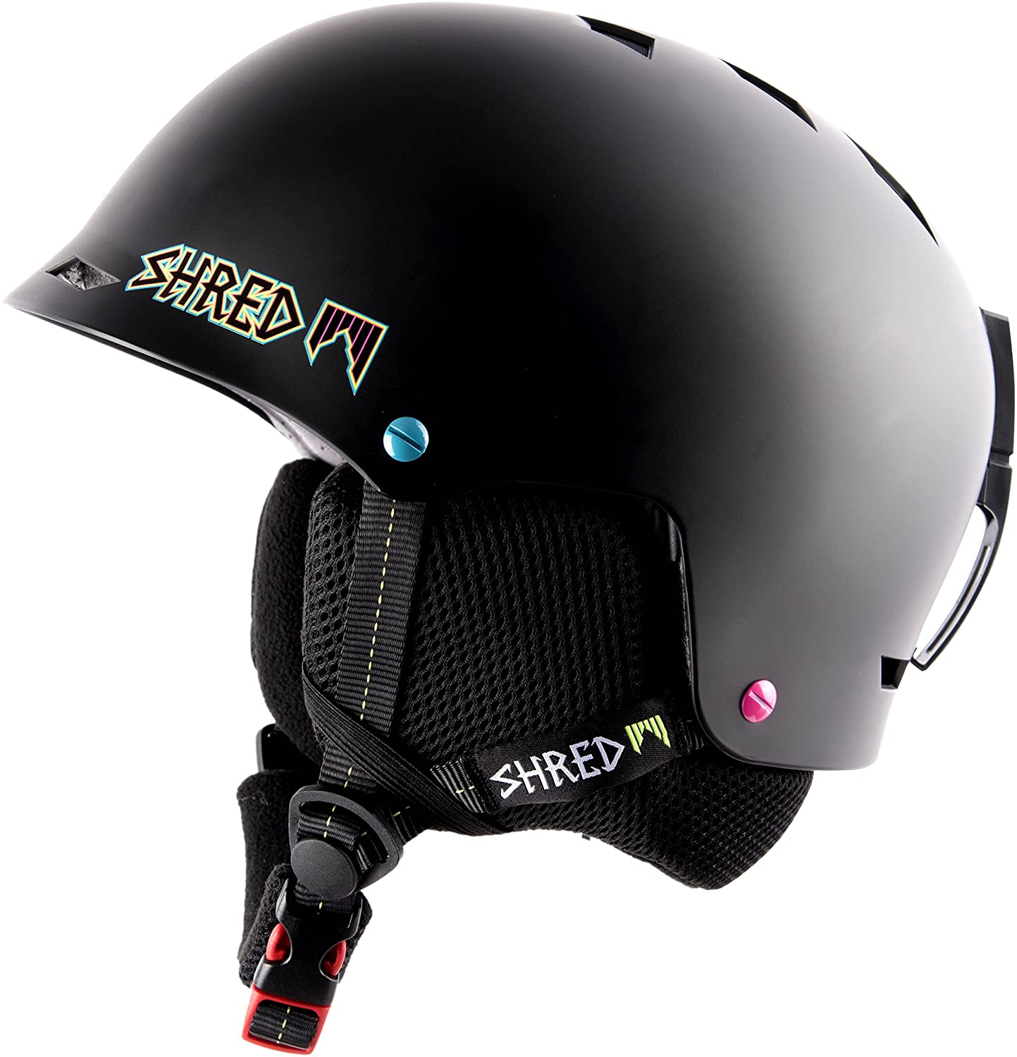Amazon.com : Shred Ski Helmet, Snowboard Helmet, Half Brain Helmet, Half Shell, Shrasta, M/XL (57-61) : Sports & Outdoors