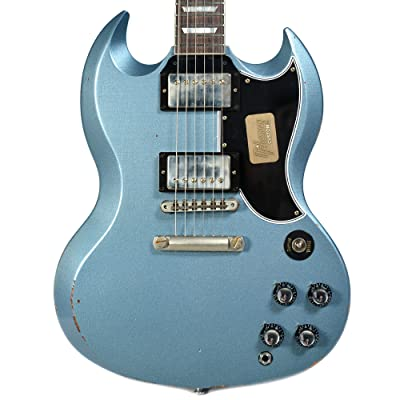 SG Standard Heavy Aged Antique Pelham Blue Limited Edition