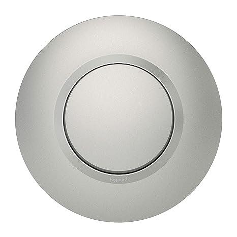 Legrand leg95072 Alu CPT dooxie botón pulsador aluminio completo Deco