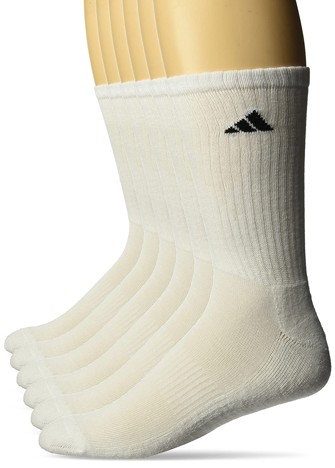 adidas Men's Athletic 6-Pack Crew Socks Agron Socks 201290-P