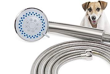 Amazon.com : SmarterFresh Pet Faucet Sprayer Set, Dog Shower for ...