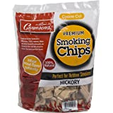 Camerons Products Hickory Wood Smoker Chips (2 Pound Coarse) - 100 Percent All Natural
