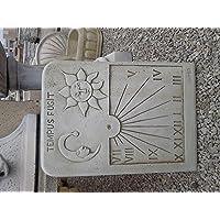 CATART Reloj de Sol en hormigón-Piedra Pared Exterior