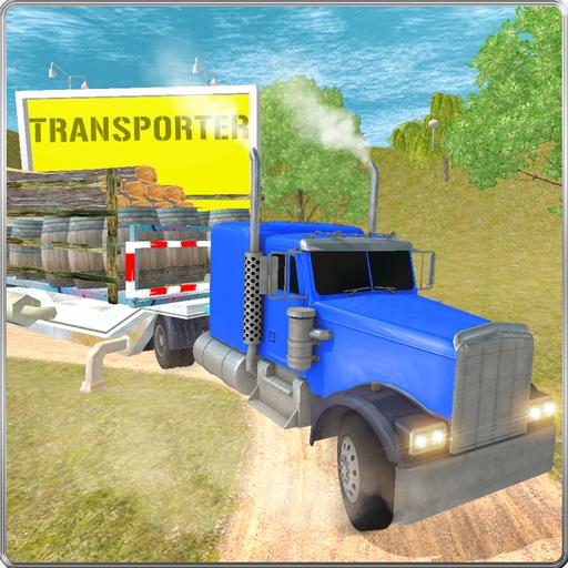 Truck Driving Cargo - Log Truck Games