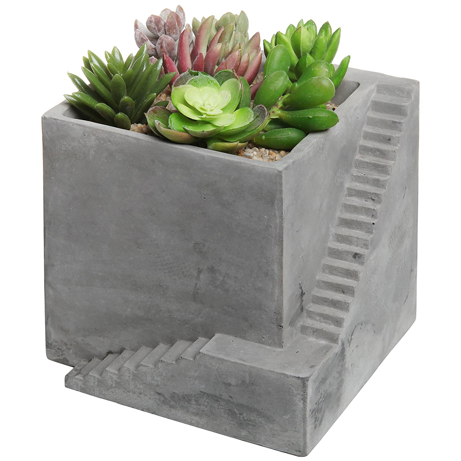 watch cement youtube cardboard diy planter