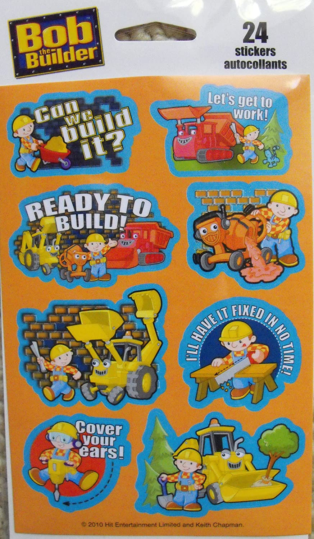 Bob the Builder Scrapbook Stickers Kid Squad DLR 10-31B
